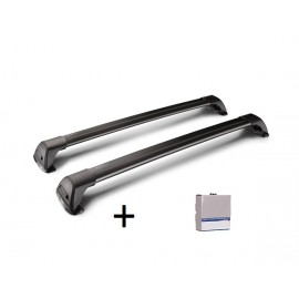 WHISPBAR FLUSH BAR BLACK